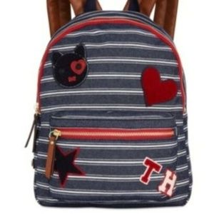 Tommy Hilfiger Adelina Small Dome Backpack Denim